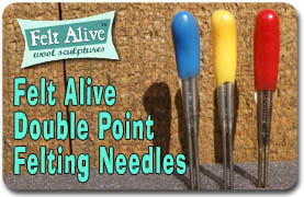 Double Point Felting Needles