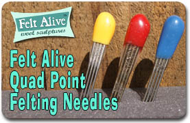 Quad Point Felting Needles
