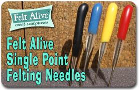 Single Point Felting Needles