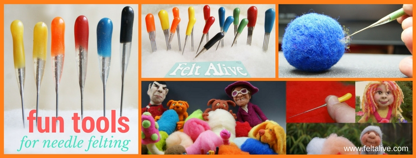 felt alive felting needles