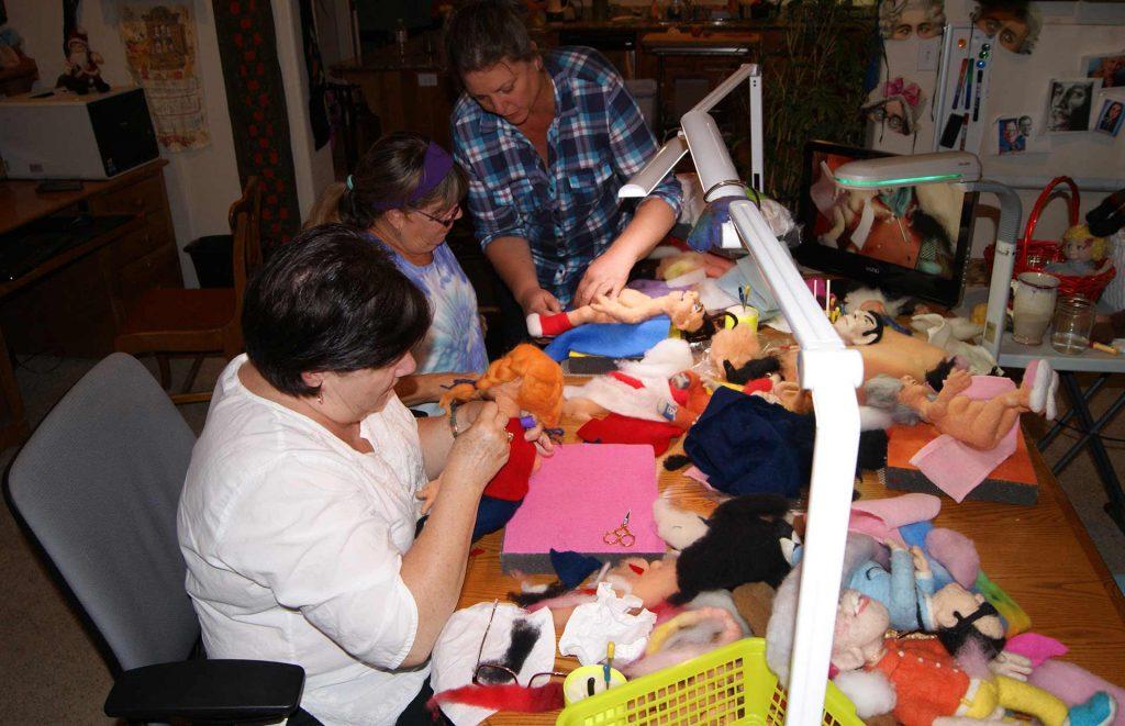 felt alive needle felting workshops in southern oregon